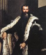 Paolo Veronese Portrait of a Gentleman in a Fur oil painting picture wholesale