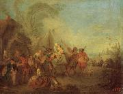 Pater, Jean-Baptiste Soldiers Setting out from the Etape oil painting picture wholesale