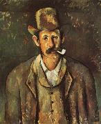 Paul Cezanne Man with a Pipe oil painting picture wholesale