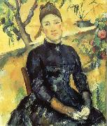 Paul Cezanne Madame Cezanne dans la serre oil painting picture wholesale