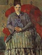 Paul Cezanne Madame Cezanne in a Red Armchair oil painting picture wholesale