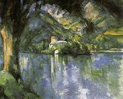 Paul Cezanne Lake Annecy oil painting picture wholesale
