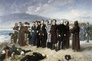 Perez, Antonio Gisbert The Execution of Torrijos and His Companions oil painting artist