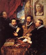 Peter Paul Rubens The Four Philosophers oil painting picture wholesale