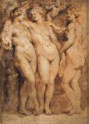 Peter Paul Rubens The Three Graces oil painting picture wholesale