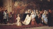 Philip Hermogenes Calderon Her Most High,Noble and Puissant Grace oil painting picture wholesale