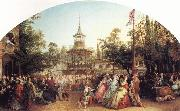 Phoebus Levin The Dancing Platform at Cremorne Gardens oil painting picture wholesale