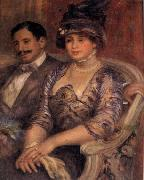 Pierre Renoir M and Mme Bernheim de Villers oil painting picture wholesale