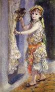 Pierre Renoir Young Girl with a Falcon oil painting picture wholesale