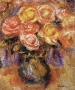 Pierre Renoir Vase of Roses Germany oil painting reproduction