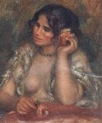Pierre Renoir Gabrielle with a Rose oil painting picture wholesale