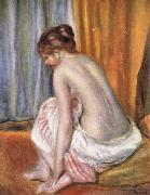 Pierre Renoir Back View of a Bather oil painting picture wholesale