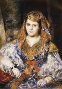 Pierre Renoir Algerian Woman oil painting picture wholesale