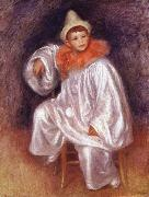 Pierre Renoir White Pierrot oil painting picture wholesale