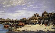 Pierre Renoir The Pone des Arts and the Institut de Frane oil painting picture wholesale