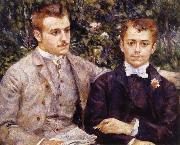 Pierre Renoir Charles and Georges Durand-Ruel oil painting picture wholesale