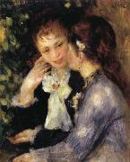 Pierre Renoir Confidences oil painting picture wholesale