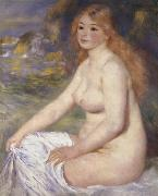 Pierre Renoir Blonde Bather oil painting picture wholesale
