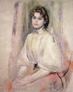 Pierre Renoir Young Woman Seated oil painting picture wholesale