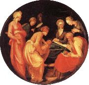 Pontormo The Birth of the Baptist oil painting picture wholesale