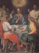 Pontormo The Supper at Emmaus oil painting picture wholesale