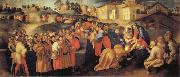 Pontormo The Adoration of the Magi oil painting picture wholesale
