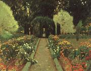 Prats, Santiago Rusinol Garden in Aranjuez oil painting picture wholesale