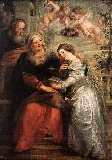 RUBENS, Pieter Pauwel The Education of the Virgin oil painting picture wholesale