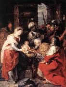 RUBENS, Pieter Pauwel Adoration of the Magi oil painting picture wholesale
