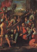 Raphael Christ Falls on the Road to Calvary oil painting picture wholesale