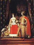 Sir Edwin Landseer Queen Victoria and Prince Albert at the Bal Costume of 12 may 1842 oil painting picture wholesale