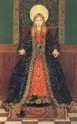 Thomas Cooper Gotch The Child Enthroned oil