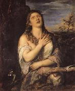 Titian Penitent Mary Magdalen oil painting picture wholesale