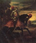 Titian Equestrian Portrait of Charles V oil painting picture wholesale