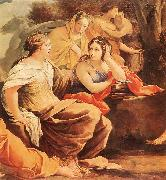 VOUET, Simon Parnassus or Apollo and the Muses (detail) oil painting picture wholesale