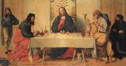 Vincenzo Catena The Supper at Emmaus oil