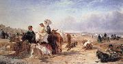 William Havell Weston Sands in 1864 oil painting picture wholesale