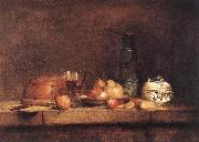 jean-Baptiste-Simeon Chardin Still-Life with Jar of Olives oil painting picture wholesale