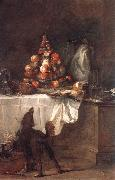 jean-Baptiste-Simeon Chardin The Buffet oil painting picture wholesale