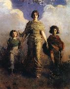 Abbott Handerson Thayer A Virgin oil