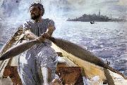 Anders Zorn Kaik oarsman oil painting picture wholesale