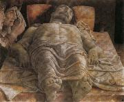 Andrea Mantegna Foreshortened Christ oil