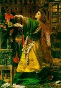 Anthony Frederick Augustus Sandys Morgan Le Fay (Queen of Avalon) oil painting picture wholesale