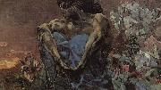 Arnold Bocklin The Seated Demon oil painting picture wholesale
