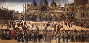 BELLINI, Gentile Procession in Piazza San Marco oil painting picture wholesale