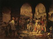 Baron Antoine-Jean Gros Napoleon Visiting the Plague Vicims at jaffa,March 11.1799 oil painting picture wholesale