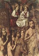 Bartolome Bermejo Christ Leading the Patriarchs to the Paradise (detail) oil