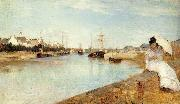 Berthe Morisot The Harbor at Lorient oil painting picture wholesale