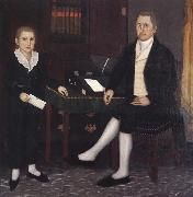 Brewster john James Prince and Son William Henry oil