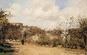 Camille Pissarro Spring in Louveciennes oil painting picture wholesale